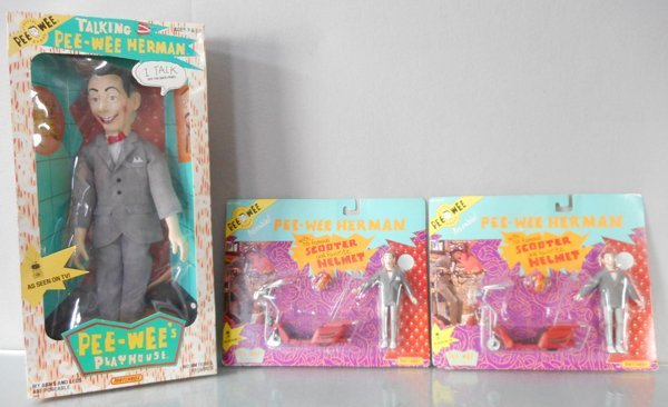 MATCHBOX PEE WEE'S PLAYHOUSE LOT