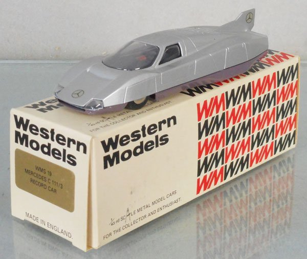 WESTERN MODELS MERCEDES RECORD CAR