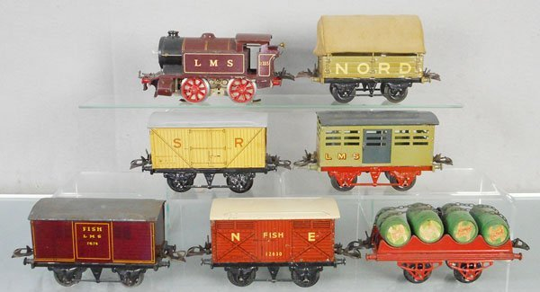 HORNBY LMS TRAIN SET