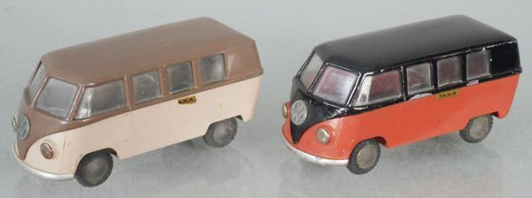 2 TEKNO 212 VW TAXI BUSES