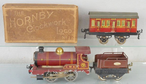 HORNBY LMS TRAIN SET