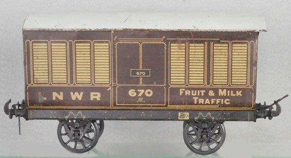 CARETTE LNWR BOX CAR