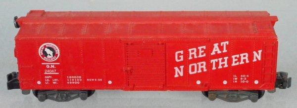 AMERICAN FLYER 24047 GREAT NORTHERN BOX CAR