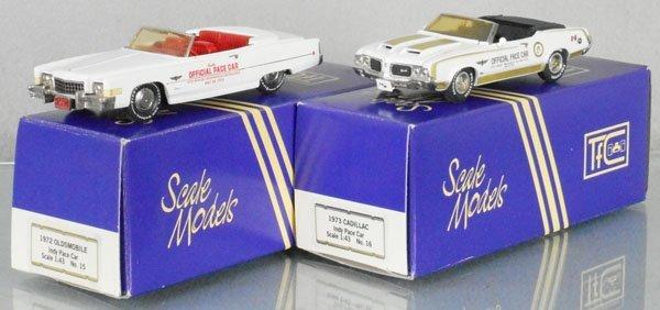 2 PACE CAR MODELS