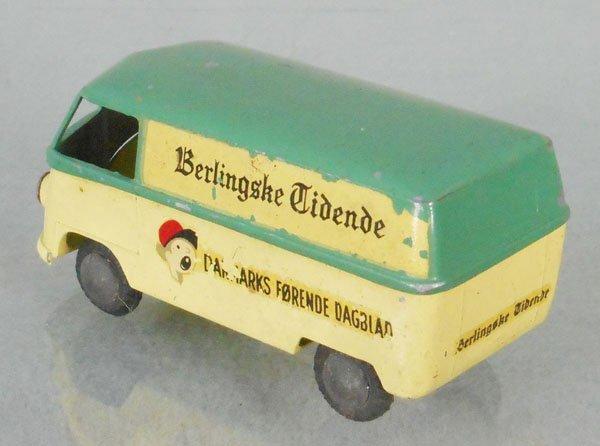 TEKNO 413 BERLINGSKE TIDENDE VW VAN - 2
