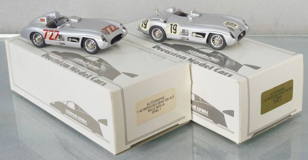 2 AUTOGRAPHIC PRECISION MERCEDES BENZ 300SLR