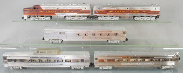 AMERICAN FLYER 5469 SILVER FLASH TRAIN SET