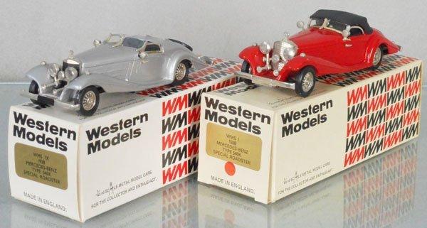 2 WESTERN MODELS MERCEDES