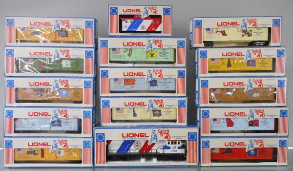 LIONEL SPIRIT OF 76 TRAIN SET