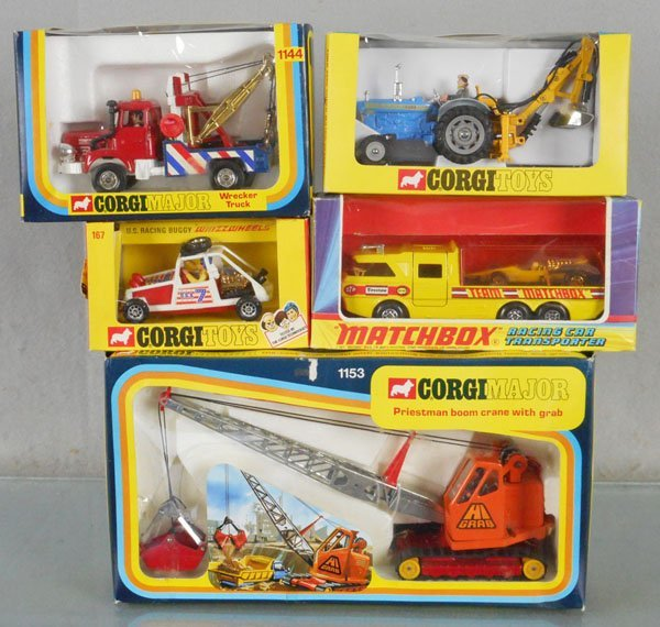 CORGI & MATCHBOX VEHICLES