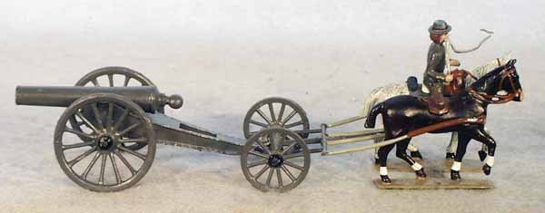 007A: MIGNOT 3002C CANNON W/RIDER
