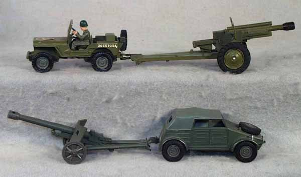 012A: 2 DINKY MILITARY VEHICLES