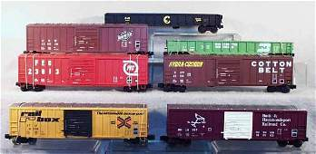 341A 7 WEAVER FREIGHT CARS