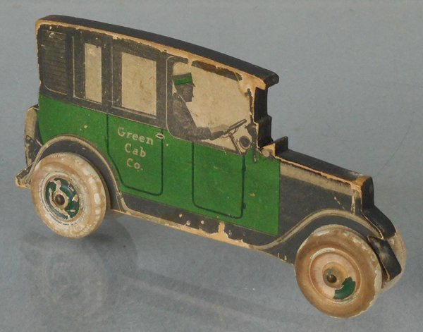 BIRCHCRAFT GREEN CAB CO ADVERTISING AUTO