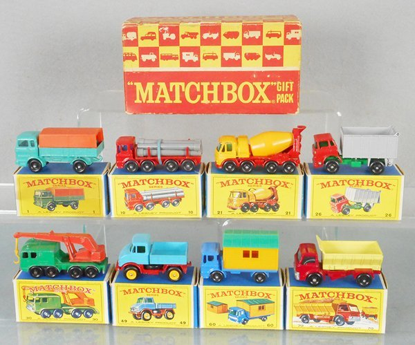 MATCHBOX G6 MAIL ORDER GIFT PACK