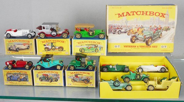 MATCHBOX MOY LOT