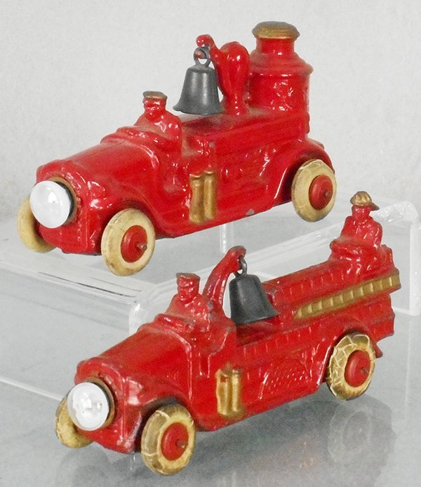 2 BARCLAY FIRE ENGINES