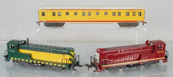FLEISCHMANN US TRAIN LOT