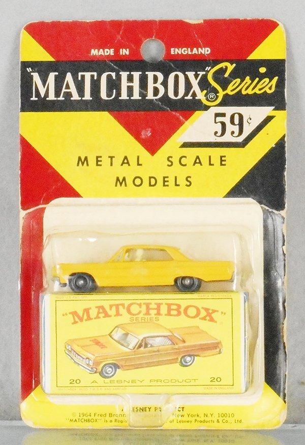 MATCHBOX 20C6 CHEVROLET IMPALA TAXI CAB