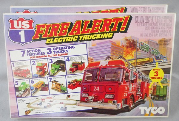 2 TYCO US1 FIRE ALERT ELECTRIC TRUCKING SETS