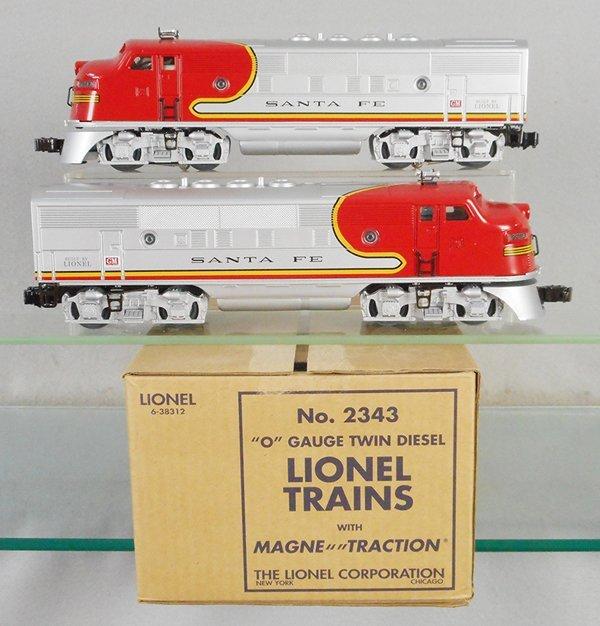 LIONEL 38312 F3 SF AA DIESELS