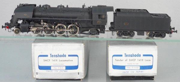 TENSHODO 152 SMCF 141R LOCO & TENDER
