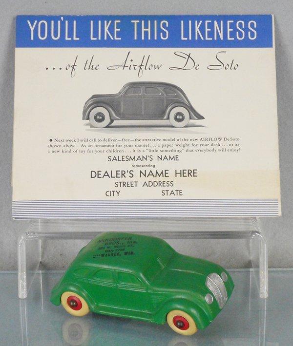 1934 DESOTO AIRFLOW RUBBER AUTO