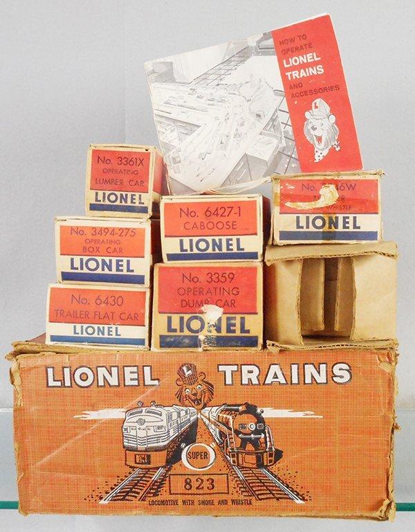 LIONEL TRAIN SET - 2