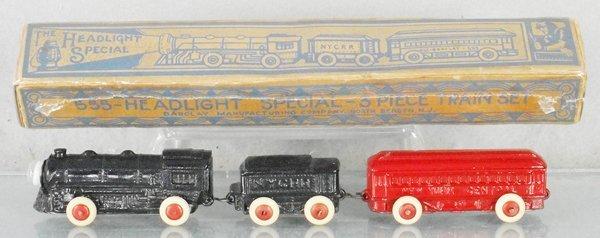 BARCLAY 555 HEADLIGHT SPECIAL TRAIN SET
