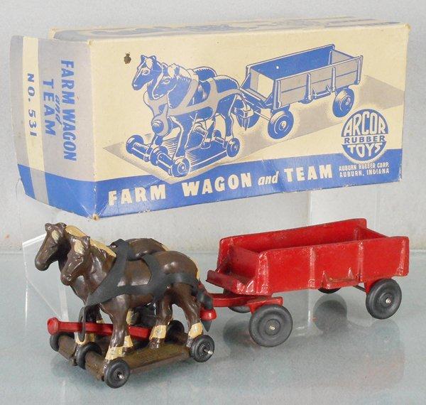 ARCOR 531 FARM WAGON & TEAM