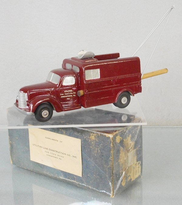 NATIONAL PRODUCTS 1947 INT'L UTILITY TRUCK PROMO