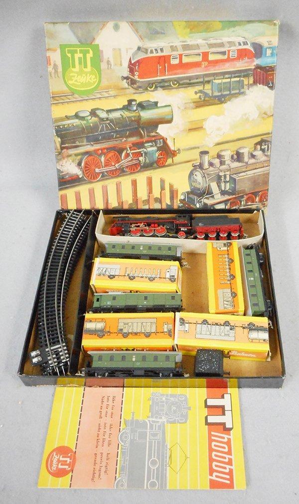 ZEUKE TT GAUGE TRAIN SET