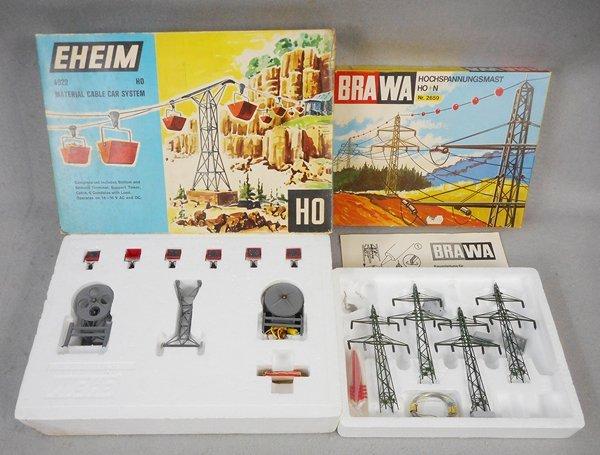 EHEIM & BRAWA CABLE CAR & POWER LINE SETS