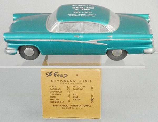 BANTHRICO 1956 FORD AUTOBANK PROMO