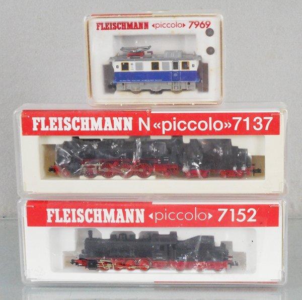 FLEISCHMANN PICCOLO TRAIN LOT