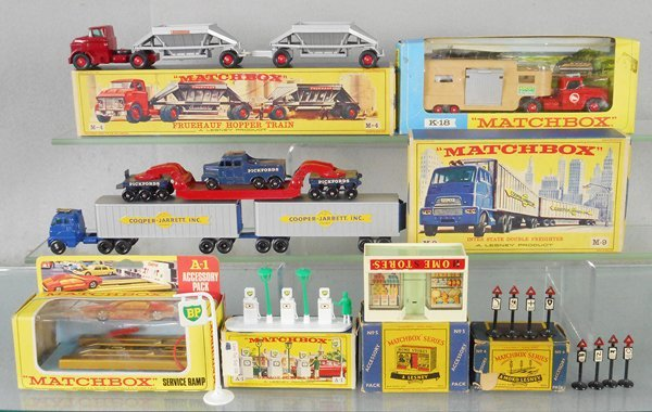 8 MATCHBOX ITEMS