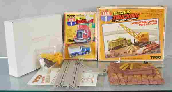 TYCO ELECTRIC TRUCKING LOT
