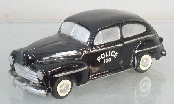 MASTER CASTER 1948 FORD POLICE CAR PROMO