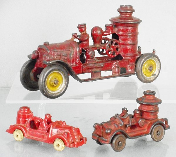 3 FIRE PUMPERS