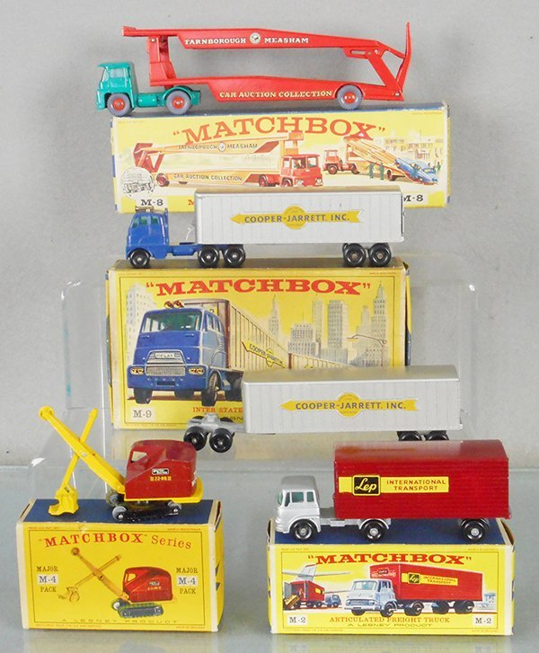 4 MATCHBOX MAJOR PACK VEHICLES