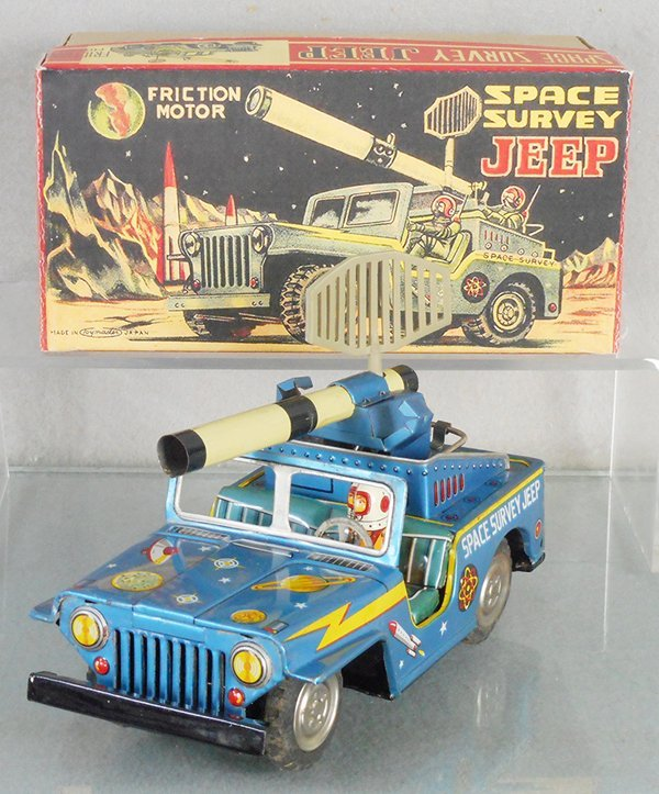 TOY MASTER SPACE SURVEY JEEP
