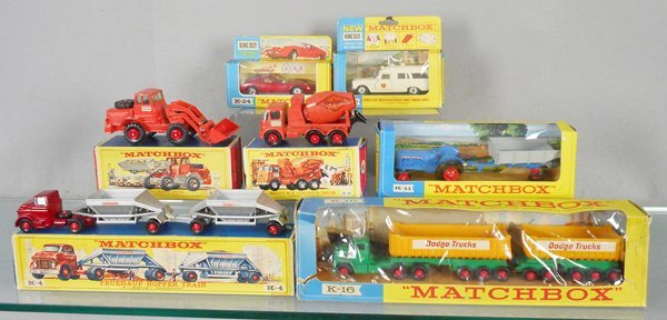 7 MATCHBOX KING SIZE VEHICLES