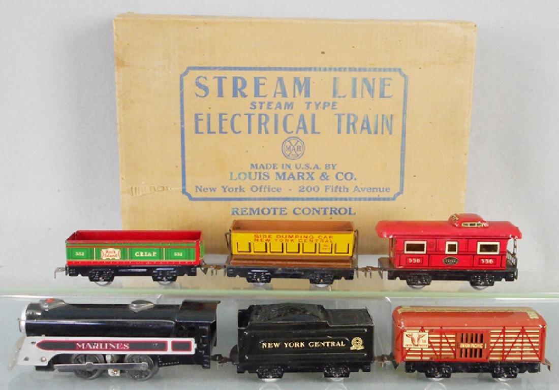 MARX 4923 NYC ELECTRIC TRAIN SET