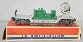 LIONEL 6520 SEARCHLIGHT CAR
