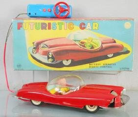 LINEMAR FUTURISTIC CAR