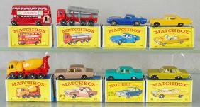 8 MATCHBOX VEHICLES