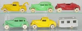 6 TOOTSIETOY 1935 FORDS