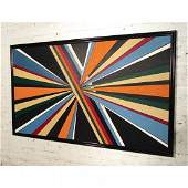 Signed Mid-Century Modern Painting by Kathaleen Moore