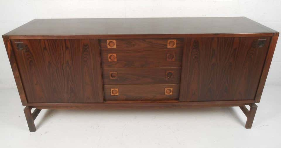 Rosewood Sideboard by H.P. Hansen