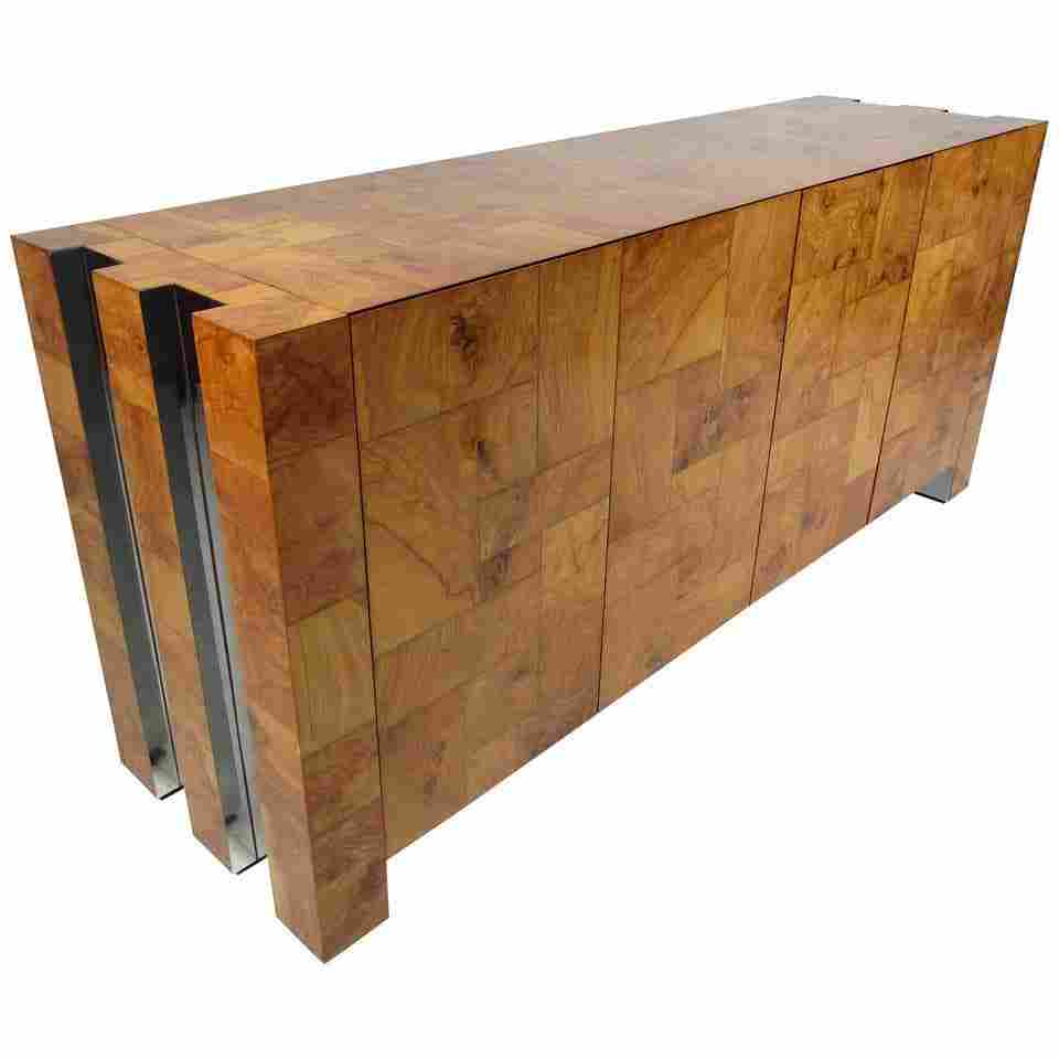 Mid-Century Modern Paul Evans Credenza for Directional